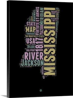 Mississippi Word Cloud I