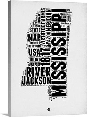 Mississippi Word Cloud II
