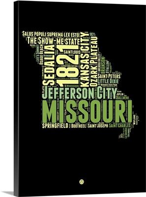 Missouri Word Cloud I