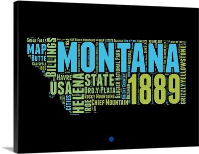 Montana Word Cloud I
