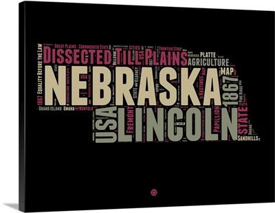 Nebraska Word Cloud I