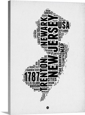 New Jersey Word Cloud II