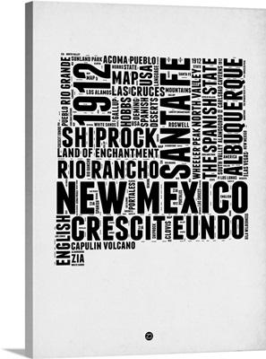 New Mexico Word Cloud II