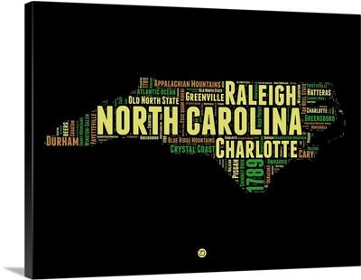 North Carolina Word Cloud I