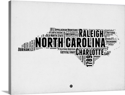 North Carolina Word Cloud II