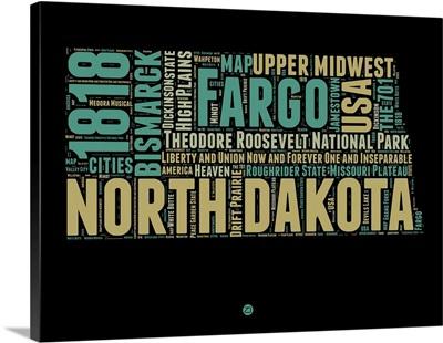 North Dakota Word Cloud I