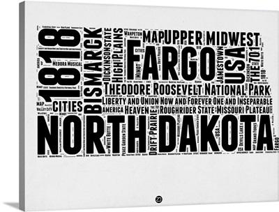 North Dakota Word Cloud II