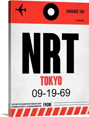 NRT Tokyo Luggage Tag I