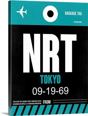 NRT Tokyo Luggage Tag II