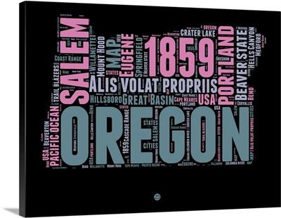 Oregon Word Cloud II