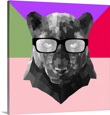 Party Panther in Glasses