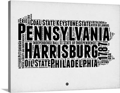 Pennsylvania Word Cloud II