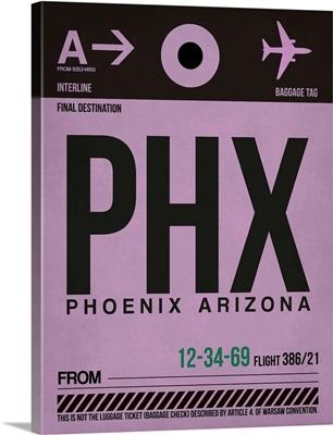 PHX Phoenix Luggage Tag I