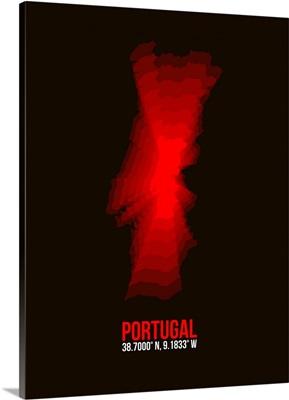 Portugal Radiant Map I