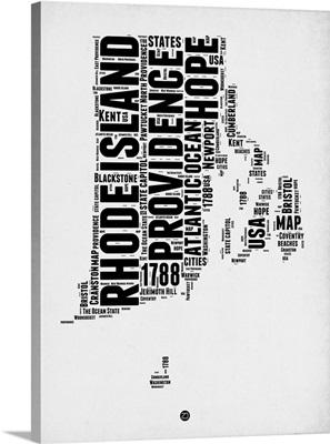 Rhode Island Word Cloud I