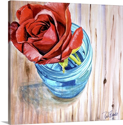 Rose in Jar