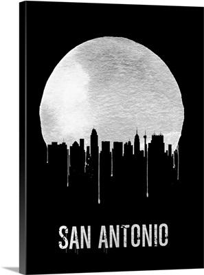 San Antonio Skyline Black