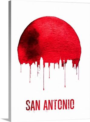 San Antonio Skyline Red