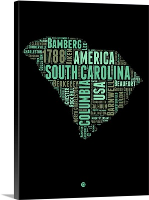 South Carolina Word Cloud II