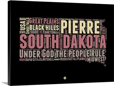 South Dakota Word Cloud II