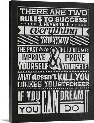 Success Set Black