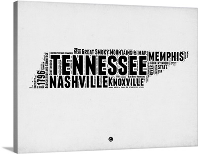 Tennessee Word Cloud II