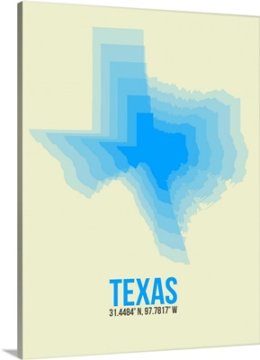 Texas Radiant Map I