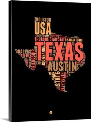 Texas Word Cloud I