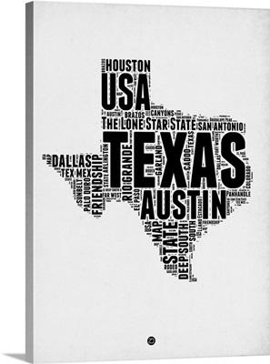 Texas Word Cloud II