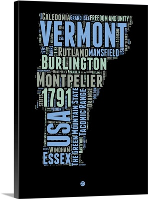 Vermont Word Cloud I