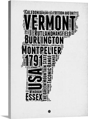 Vermont Word Cloud II