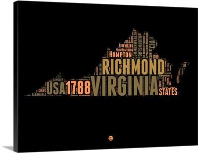 Virginia Word Cloud I