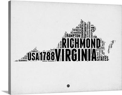 Virginia Word Cloud II