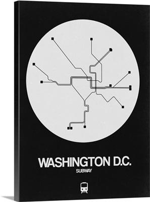 Washington D.C. White Subway Map