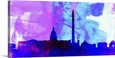 Washington DC City Skyline