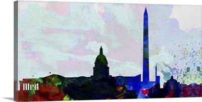 Washington DC City Skyline 2