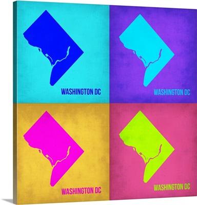 Washington DC Pop Art Map I