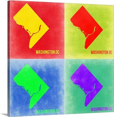 Washington DC Pop Art Map II