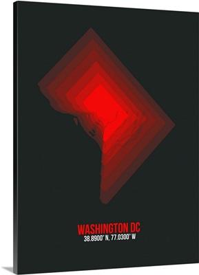 Washington DC Radiant Map I