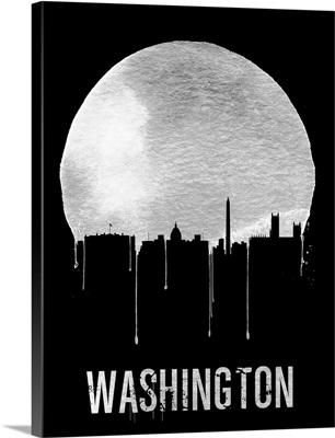Washington Skyline Black
