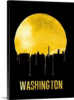 Washington Skyline Yellow
