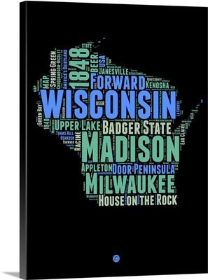 Wisconsin Word Cloud I