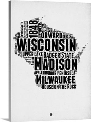 Wisconsin Word Cloud II