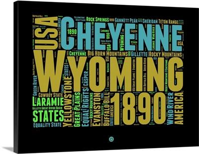 Wyoming Word Cloud I