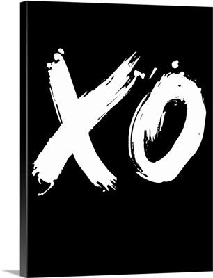 XO Poster Black