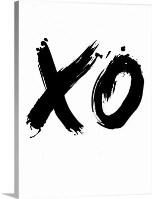 XO Poster White