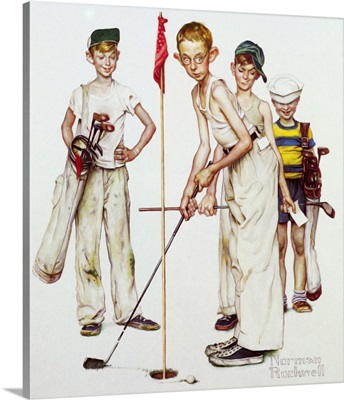 Four Sporting Boys: Golf