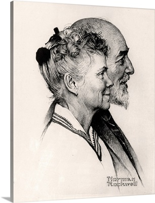 Portrait Of John And Dorothy Canfield Fisher