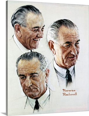 Portrait Of Lyndon B. Johnson