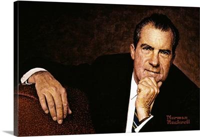 Portrait Of Richard M. Nixon